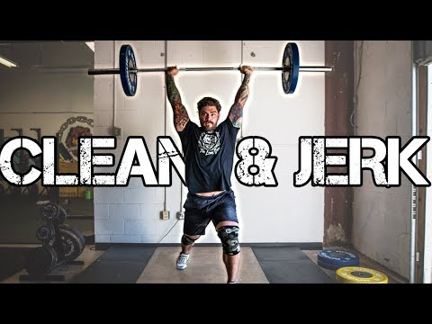 Olympic Weightlifting how to: Clean and Jerk (beginners guide)