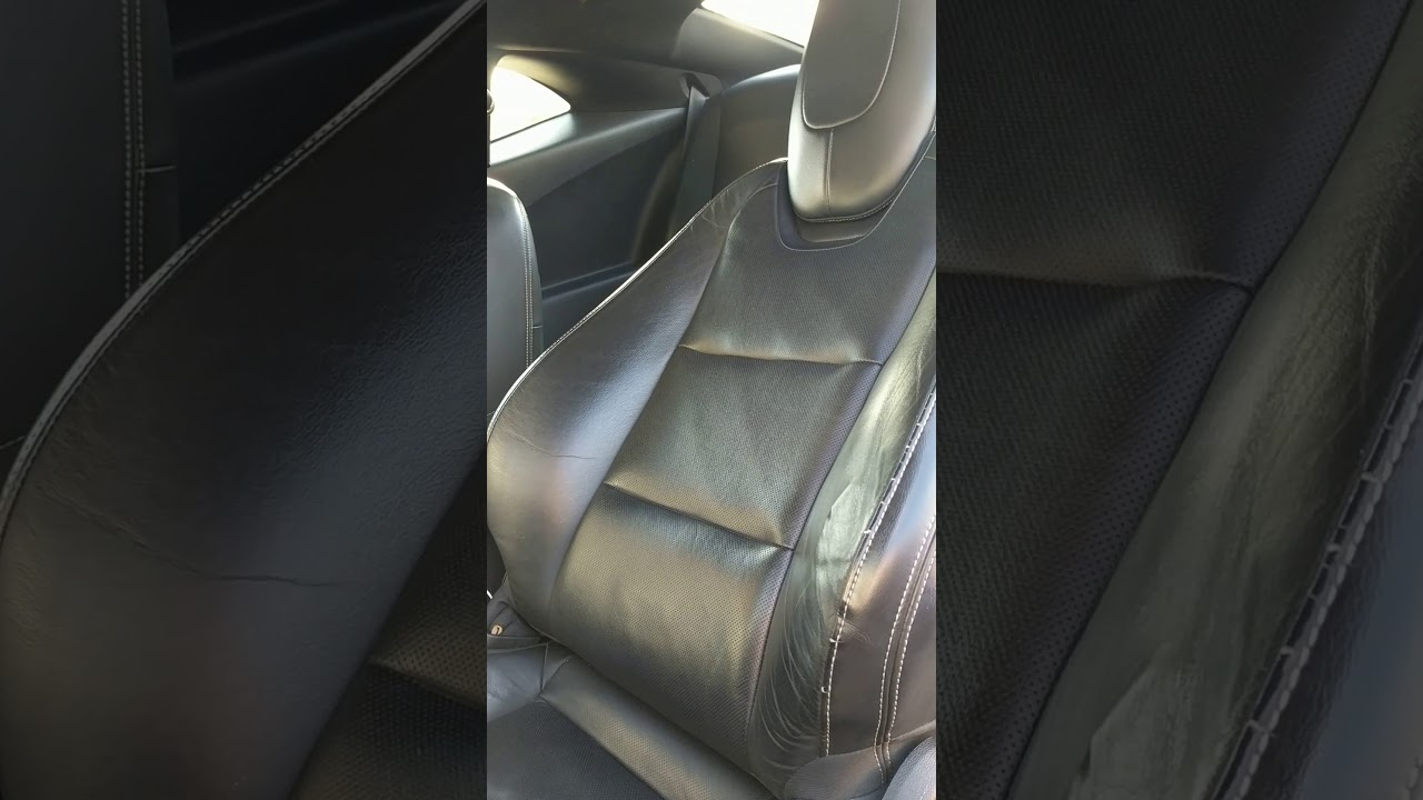 How To Unstick A Stuck Camaro Electric Seat