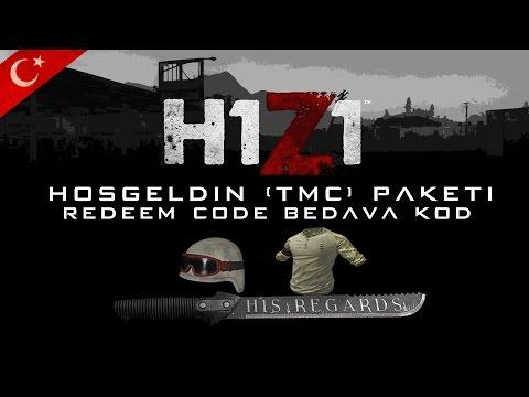 H1Z1 Bedava Hoşgeldin Paketi/Free Reedem Code