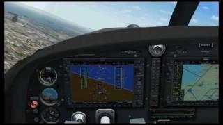 GPS Navigation Tutorial - Part IV (G1000 glass cockpit GPS navigation)