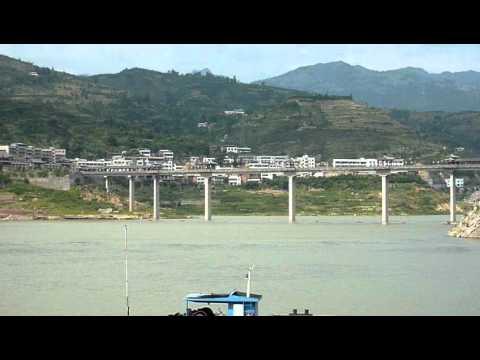 Qutang gorge, Yangtze river b.MOV