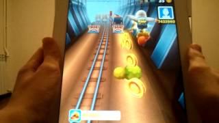 полный обзор игры subway surfers на ipad