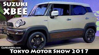 Suzuki XBEE Street & Outdoor Adventure | 2017 Tokyo Motor Show | CarNichiWa.com