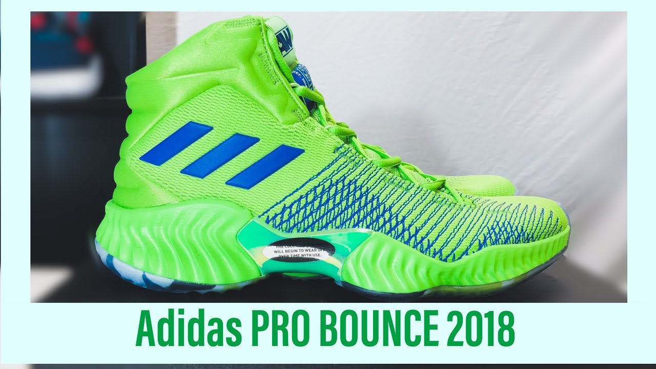b773efa2c230e Adidas PRO Bounce 2018 Andrew Wiggins PE colorways! Detailed review and  look!