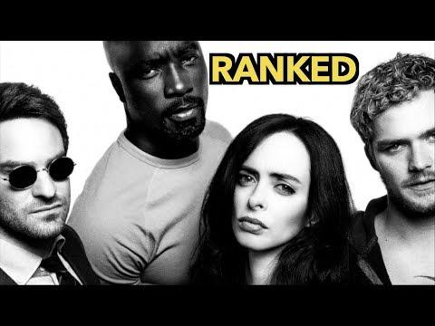 Marvel Netflix Rankings
