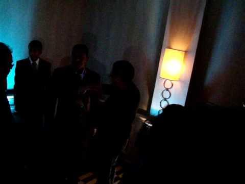 Jermaine Jackson Putting on an Amir Adnan Sherwani