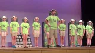 Raymond Goldovt in the Jungle Book play,Drama camp,summer2014