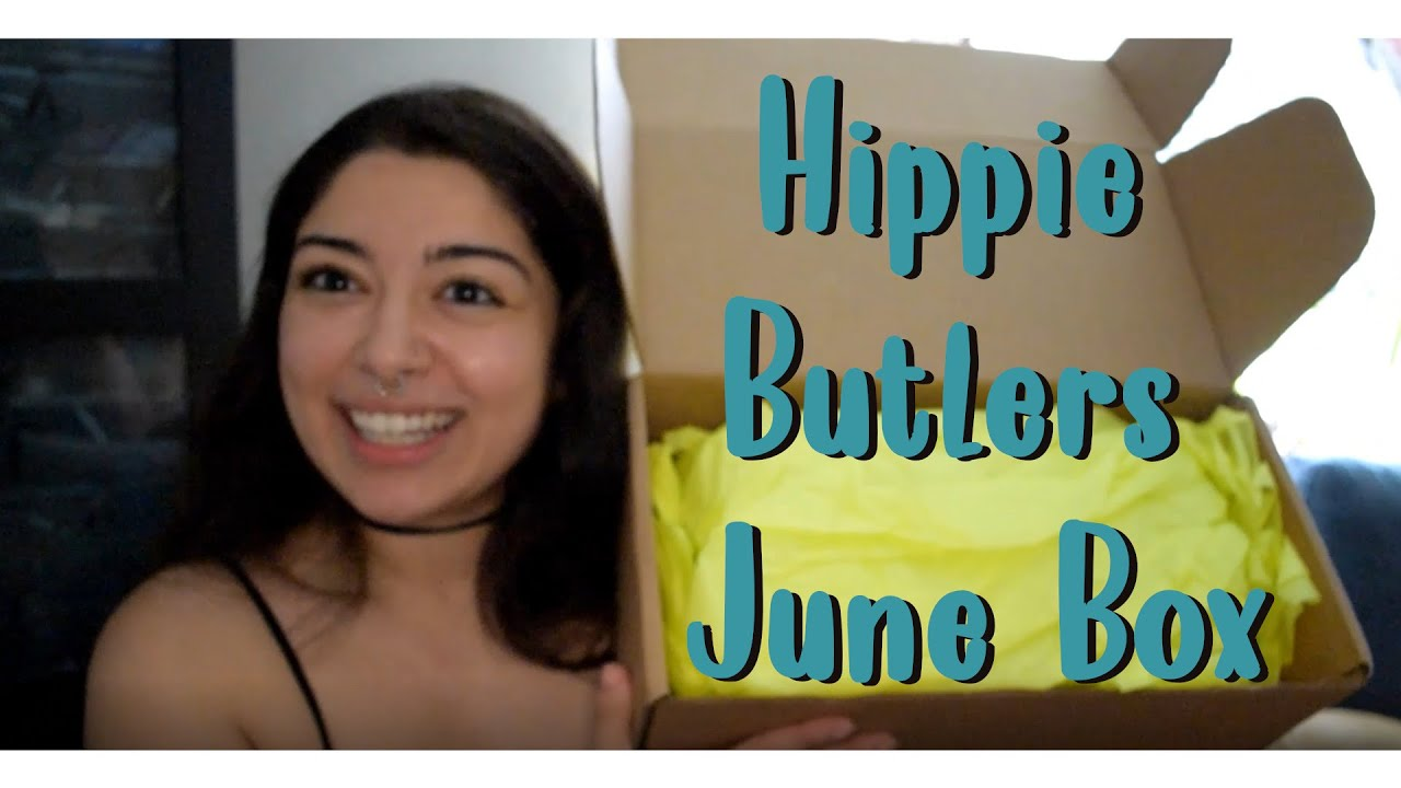 Unboxing Hippie Butlers June Box!