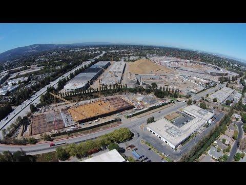 Imagen de la semana: los edificios de la segunda fase en el Campus 2 empiezan a levantarse