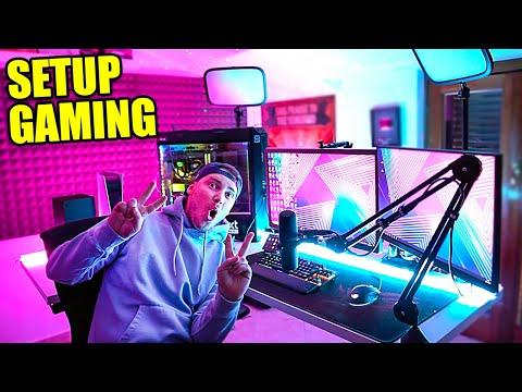 LA MIA NUOVA POSTAZIONE da GAMING!! -  Setup Gaming 2021