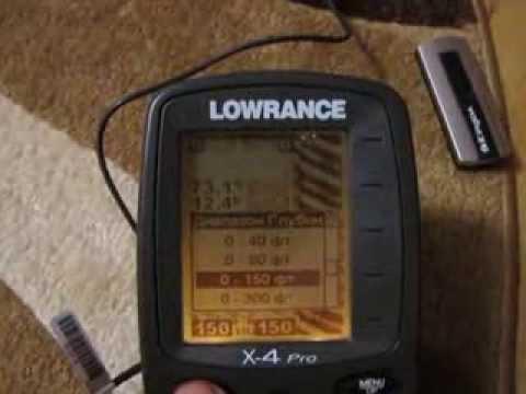 эхолот lowrance x4 pro отзывы инструкция видео
