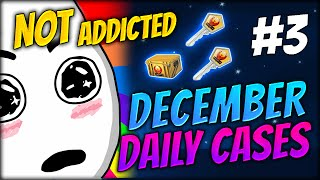 NOT ADDICTED ★ DECEMBER DAILY CASES DAY 3 - CS:GO CASE OPENING / UNBOXING