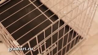 Клетка для собаки или кошки gramart
