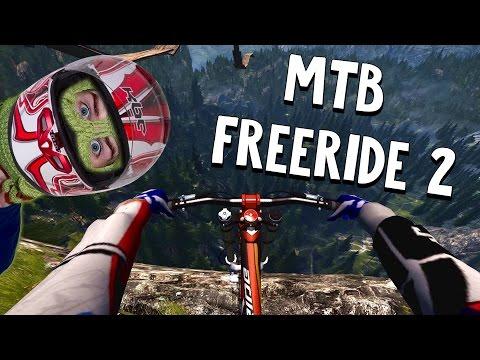 HUGE MOUNTAIN DROP!! - MTB Freeride 2 #1