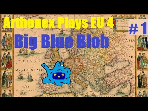 Let's Play EU 4 Big Blue Blob Achievement: Episode 1