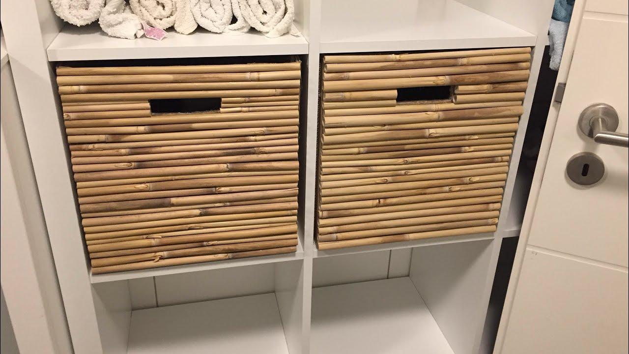Diy Regal Korb Selber Bauen Fur 0 Waschekorb Ikea Regal