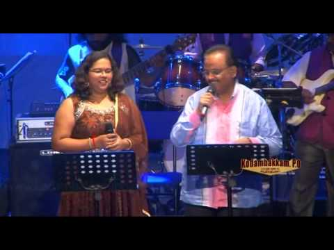 Kodambakkam po live Music band.. Dewana Hua Badal... SPB and Rajalekshmi