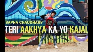 Teri aakhya ka yo kajal || Sapna choudhary || Dance video || Hip-Hop || Hritik Joya Choreography