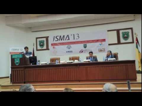 ISMA 13 Opening Ceremony