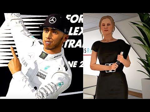 Formula 1 Modo Carreira #01: Começo com emoção!