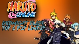 Naruto Online Nine Tails Midnight Blade Top 1 As A F2P