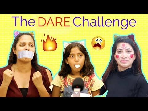 The DARE Challenge ..   #MyMissAnand #Anaysa #ShrutiArjunAnand