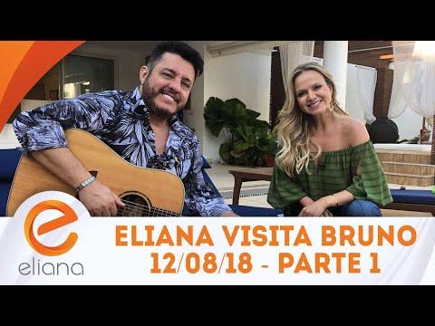 Eliana visita a casa do sertanejo Bruno - Parte 1 | Programa Eliana (12/08/18)