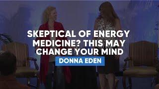 Skeptical Of Energy Medicine? Donna Eden Proves on Audience (Live)