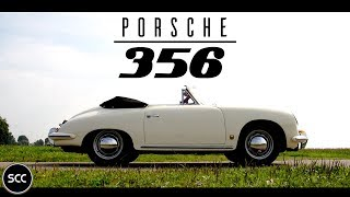 Porsche 356 B | 356B 1600 Reutter Cabriolet 1960 - Test drive in top gear | SCC TV