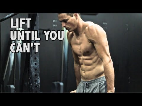 Lift Until You Can't: The Best Way to Gain Lean Muscle Mass?