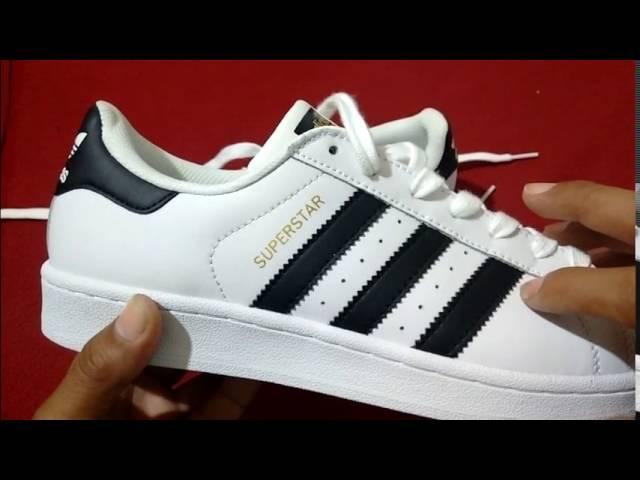 Esmerado marea Diligencia  Adidas Superstar ¿Como reconocer si es original? 5 aspectos prácticos para  que lo sepas. - YouTube