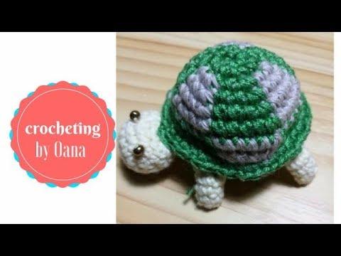 Amigurumi Turtle : Crochet turtle amigurumi by oana youtube