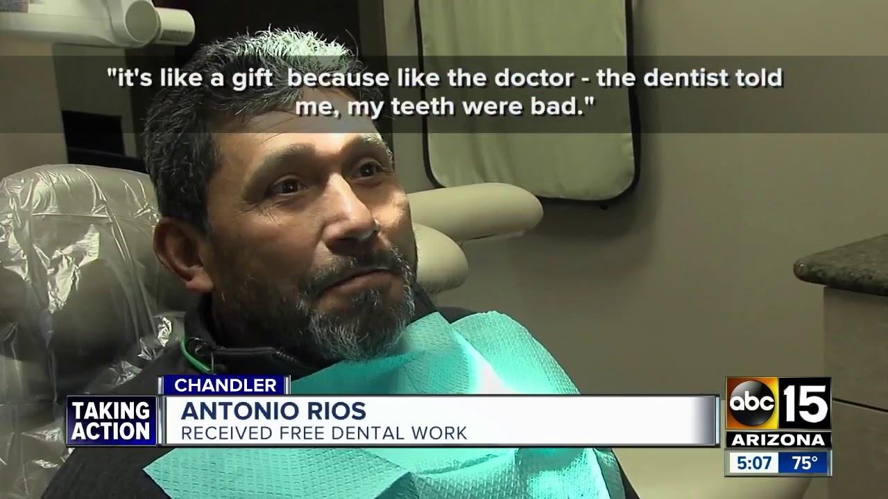 Chandler dentist offered free dental work on Friday
