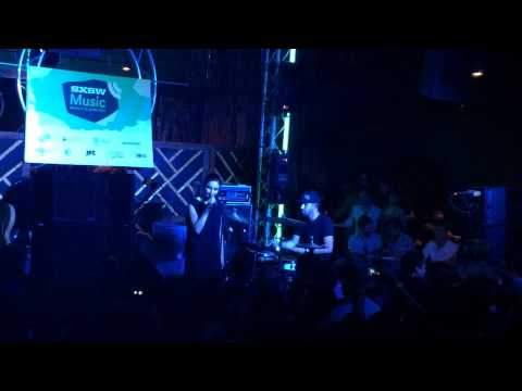 "Banks - ""Brains"" Live at SXSW 2014 with Derek Taylor and Nate Mercereau"