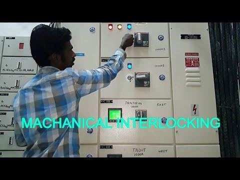 Machanical interlock, Electrical panel machanical interlocking system - in Tamil & English