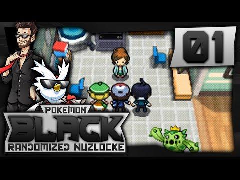 "Let's Play Pokemon Black Randomized Nuzlocke w/ ShadyPenguinn Ep 01 ""WHATRE THE CHANCES!?"""