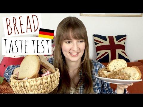 Trying German bread varieties and Laugengebäck
