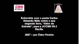 JC/CBN Recife - Entrevista com Carlos Eduardo Mélo.wmv