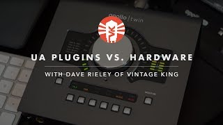 Comparing Universal Audio Plug-Ins To Their Hardware Counterparts