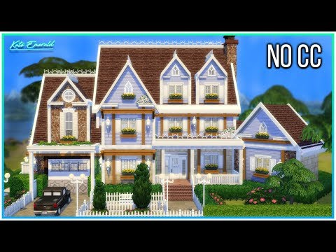 Sims 4 Speed Build - Simple Family Home w/ Treehouse | Kate Emerald thumbnail