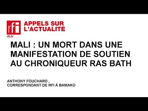 Mali : un mort dans une manifestation de soutien au chroniqueur Ras Bath
