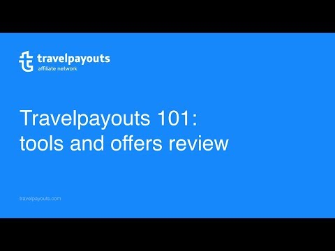 Travelpayouts webinar: tools and offers. Review