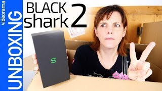 Black Shark 2 unboxing ¿máxima POTENCIA gaming?