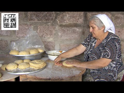 亚美尼亚美食拉瓦什薄饼及乡村生活
