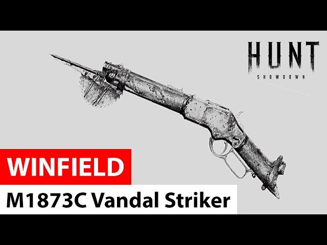 Winfield M1873C Vandal Striker in Hunt: Showdown
