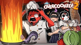 BEST.  CHEFS.  EVER. | Overcooked 2 (w/ H2O Delirious, Ohm, & Squirrel)
