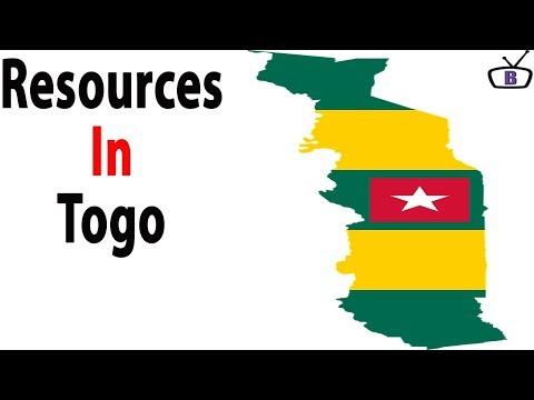Major natural resources in Togo