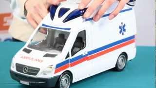 Demo - Ambulance / Ambulans - Rescue Team / Zespół Ratowniczy - Dickie Toys - www.MegaDyskont.pl