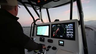 revolutionary new simrad halo pulse compression radar feature overview