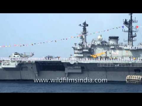 INS Viraat (R22) - World's longest serving aircraft carrier (erstwhile HMW Hermes)